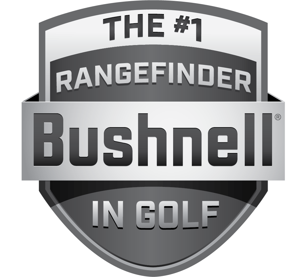 Bushnell Golf Rangefinders - The #1 in Golf Shield Logo